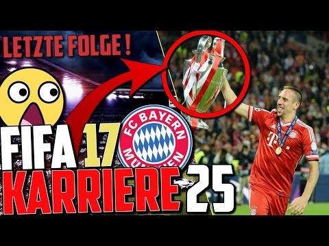 DAS WICHTIGSTE SPIEL😱😰 CL FINALE 🔥 LETZTE FOLGE!!!  | FIFA 17 Karrieremodus Fc Bayern (Deutsch) #25