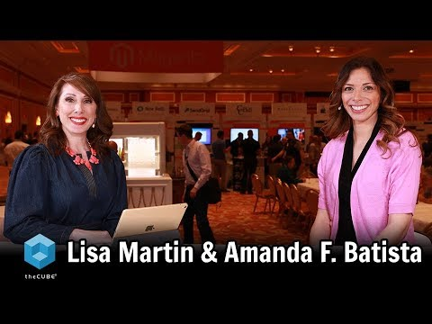 AmandaF_Batista: Honored to join @LuccaZara and @theCUBE to recap #MagentoImagine day 2 insights! https://t.co/SX90uSR5zA https://t.co/dLttht5iRY