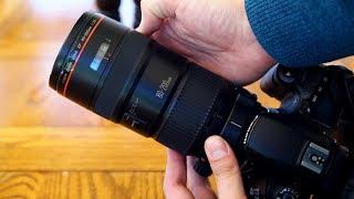 Canon 80-200mm f/2.8 'L' 'The Magic Drainpipe' lens review