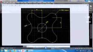 دورة الاوتوكاد - الدرس السادس - تمرين (2)