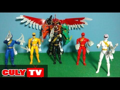 5 anh em siêu nhân gao có vũ khí giống phim đồ chơi trẻ em mô hinh |  Figures Gao ranger toy for kids - YouTube