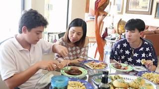 Vlog 194 ll Trổ tài nấu mì Ý kiểu mới và cái kết ...