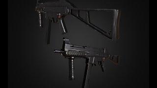 UMP-45 Speed Modeling - 4K Textures - [FREE]