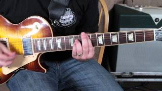 Foo Fighters - Wheels - guitar lesson - how to play - tutorial