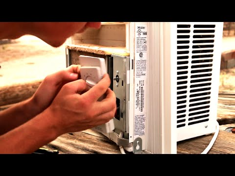 How to fix Window A/C Unit - Diagnose & Byp a Bad Switch Haier Hwf Xcl Wiring Diagram on