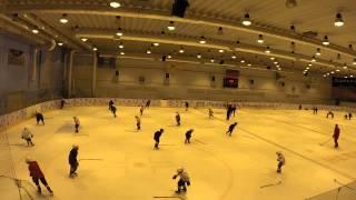 Открытый урок по хоккею младшая группа 28_11_2014 1 часть