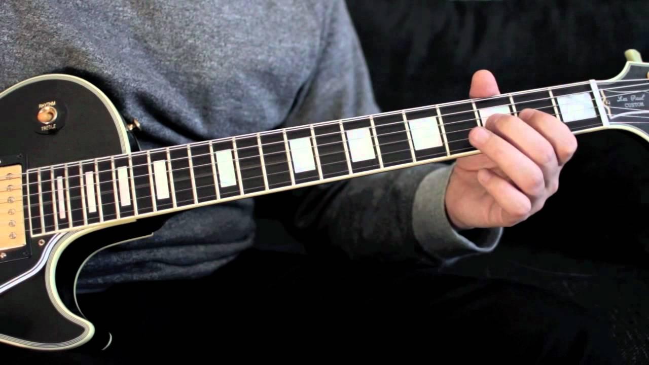 Slash guitar lick believe