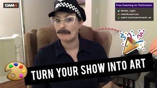 4 Simple Ways to Make Your Webcam Show Stand Out | Cam School