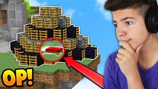 WORLDS MOST ANNOYING BASE DEFENSE!   Minecraft BED WARS