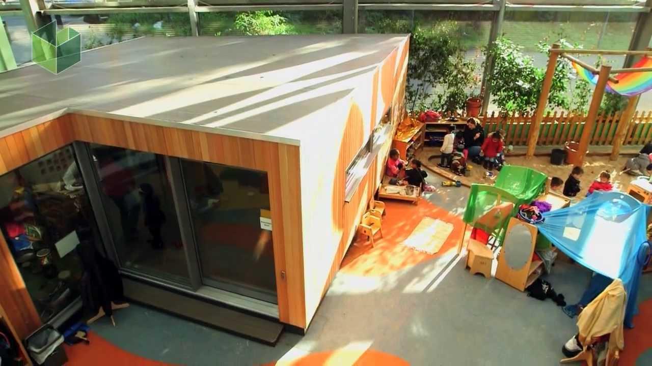 Indoor Garden Room Installation   Extra Classroom For Fawood Childrenu0027s  Centre