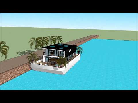 Floating luxury home in italy waternest casa casa galleggiante italia inspired parigi francia vendit