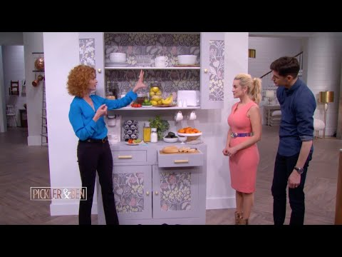 Spruce Up Anything with Peel-and-Stick Wallpaper - Pickler & Ben ...
