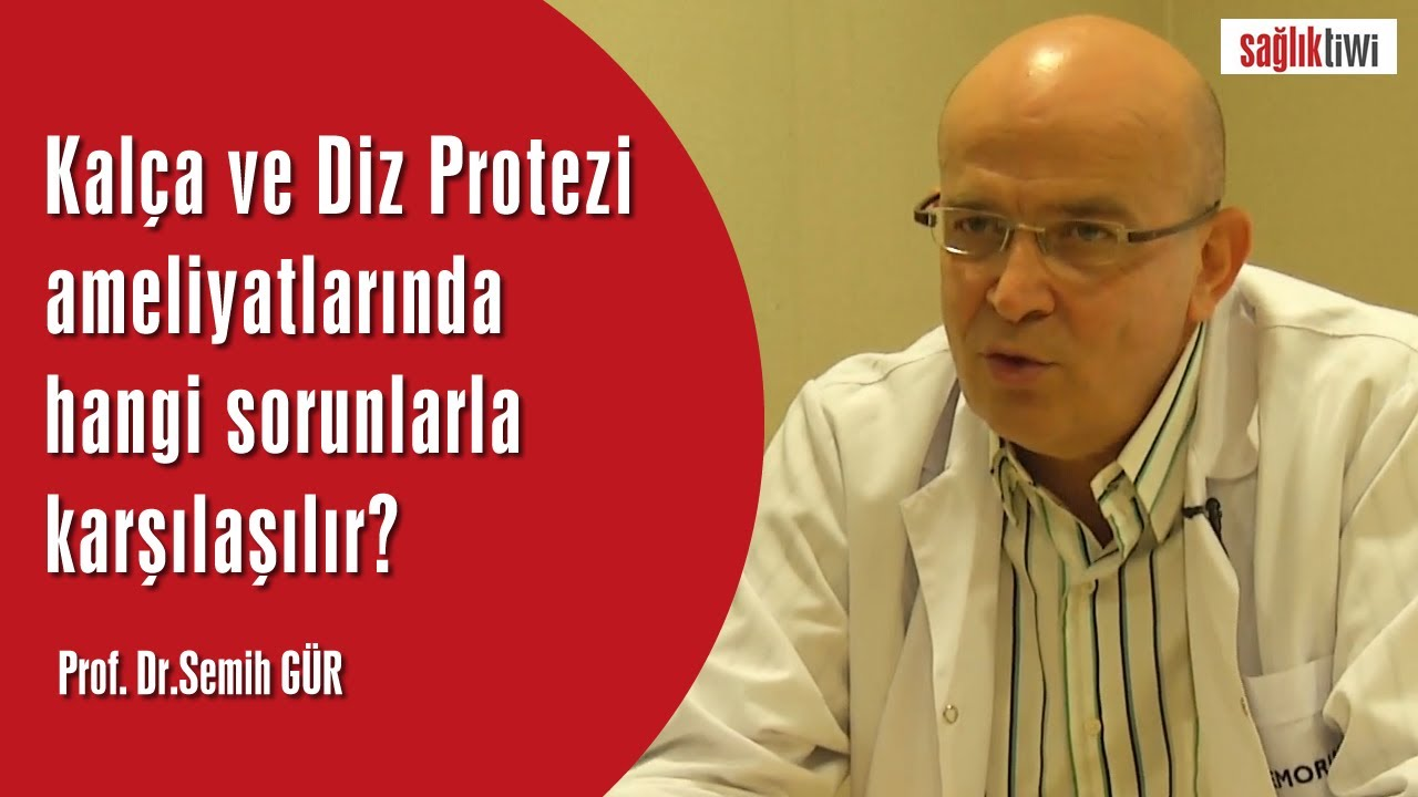 Kalça ve Diz Protezi ameliyatlarında hangi sorunlarla karşılaşılır?