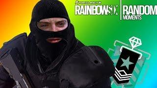 Rainbow Six Siege - Random Moments: #1 ( Fails & Funny Moments Compilation )