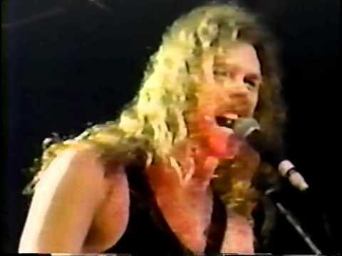 Metallica - Live In Philadelphia, PA. - 3/1989  (Pro-Shot)