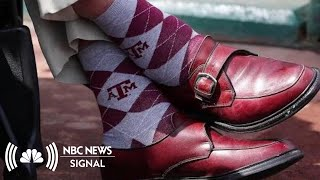 What We Can Learn About George HW Bush From His Socks | NBC News Signal