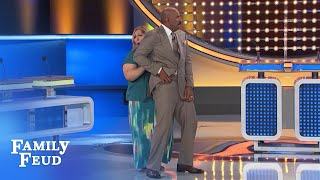 Spicy Salsa?!! | Family Feud