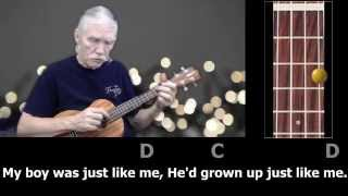 Cat's In The Cradle - Clawhammer Ukulele