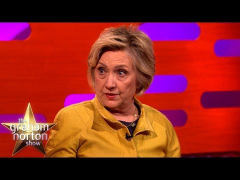 Hillary Clinton Is Worried About Donald Trump's Tweets | The Graham Norton Show