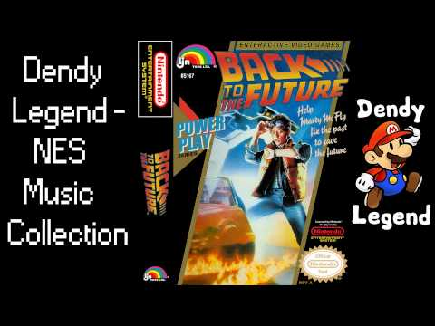 Back to the Future Part II & III NES Song Music Soundtrack - Stage Theme [HQ] High Quality Music