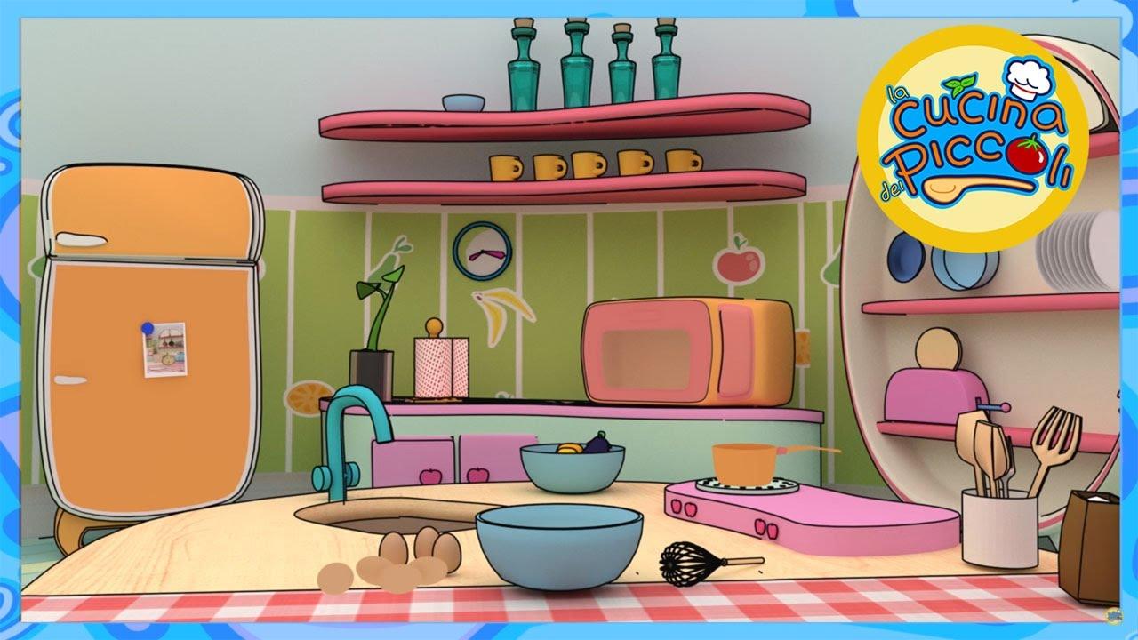 Cartoni animati e giochi per bambini: la pizza Margherita e le uova ...
