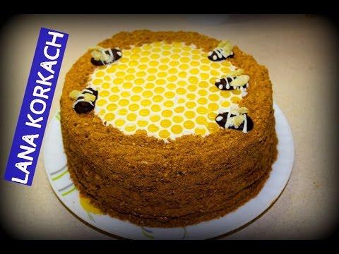 Как красиво украсить торт медовик в домашних условиях