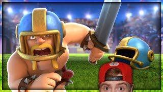 Touchdown Challengeeeeeeeeeee (won last try cause i suck at touchdown lol) | Clash Royale