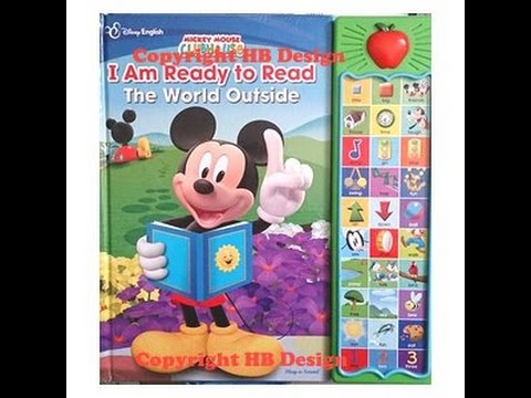 mickey mouse read mickey mouse playhouse iam ready to read the world outside youtube