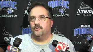 Stan Van Gundy and Dwight Howard star in the most awkward interview ever