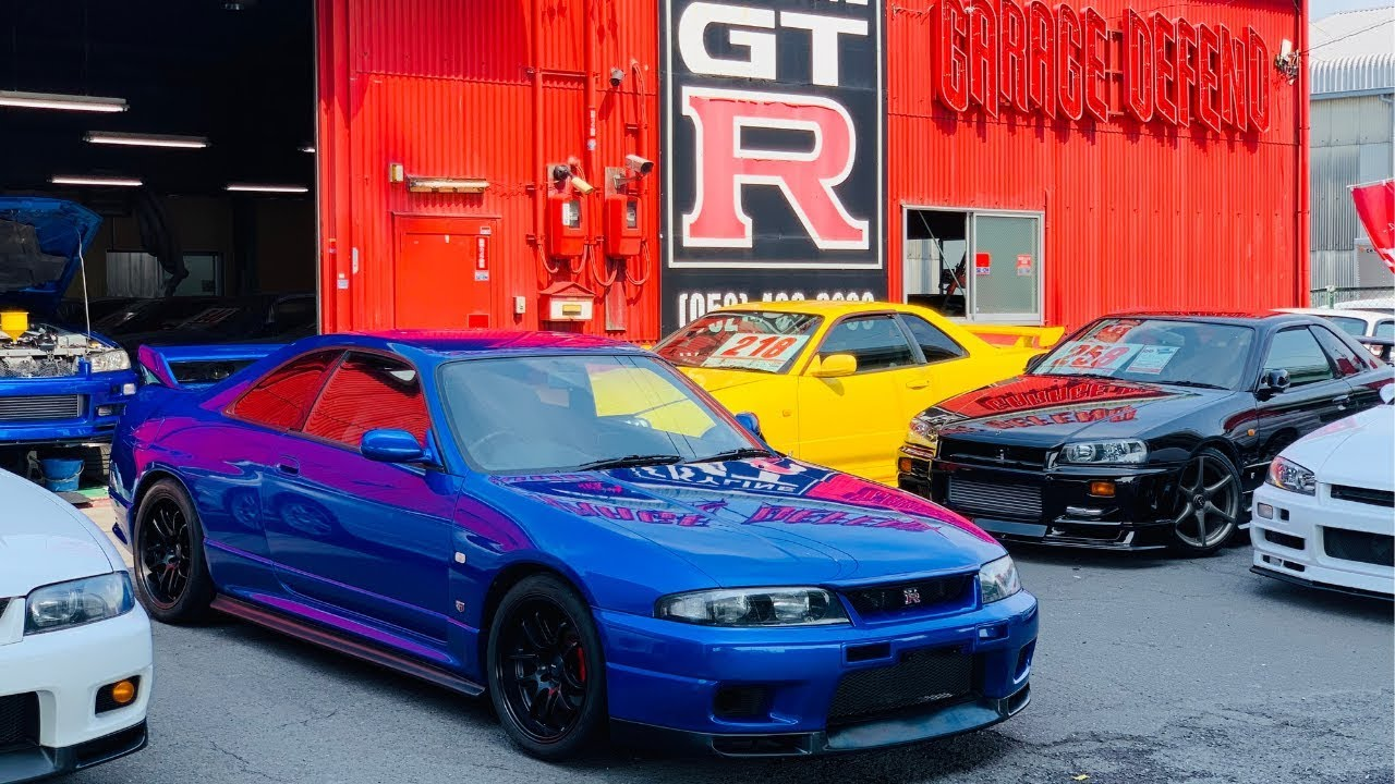 Gtr R33 For Sale Usa >> 1995 Baysideblue Skyline R33 GTR for sale?! - YouTube