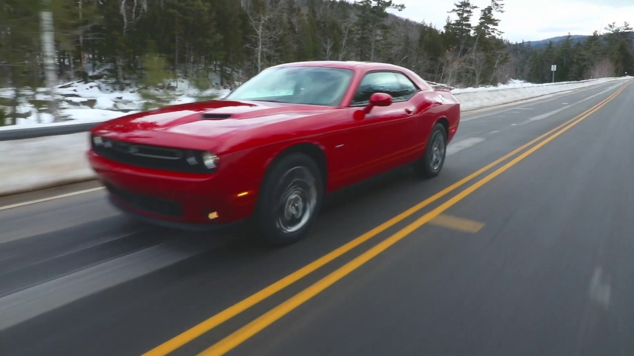 2017 Dodge Challenger GT In Red Driving Video | AutoMotoTV ...