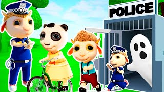No No, Play Safe! Ambulance Police Rescue Team: Learn Safety Tips for Kids + Nursery Rhymes #375