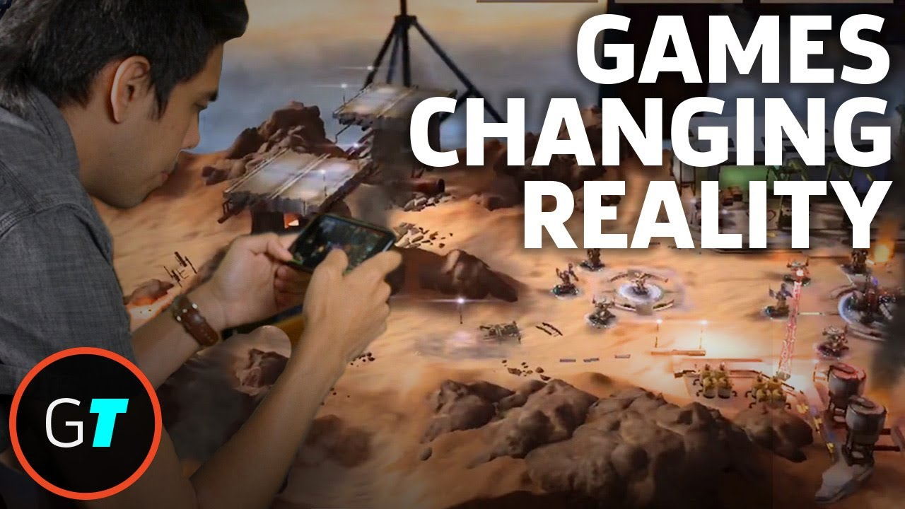 Augmented Reality Gaming On The New IPhone Platform YouTube - Minecraft pc version auf ipad spielen