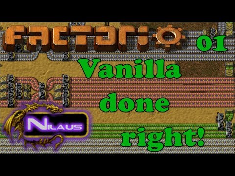 Factorio - Vanilla done right - E01 - Efficient game start