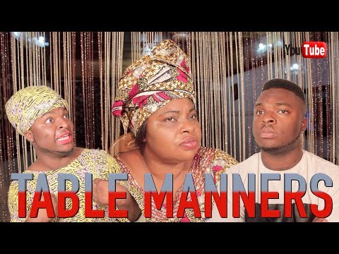 AFRICAN HOME: TABLE MANNERS