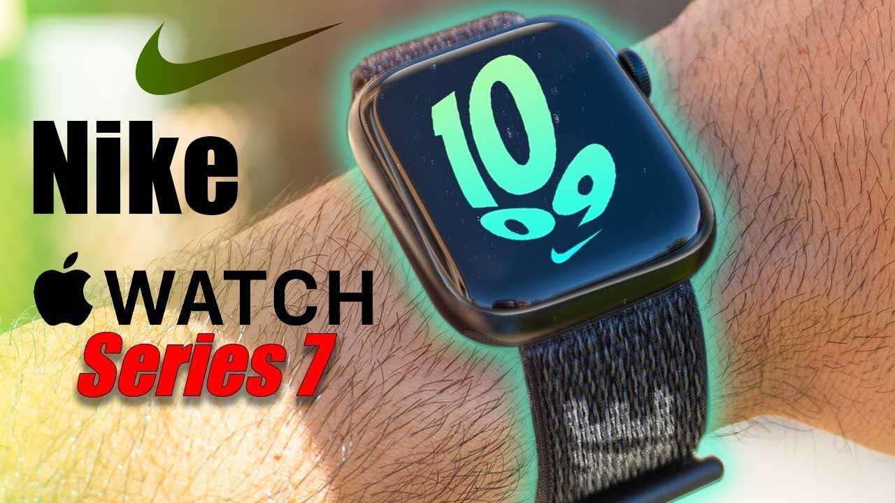 Download Apple Watch Series 7 Nike Edition (Midnight New Color and Band!)
