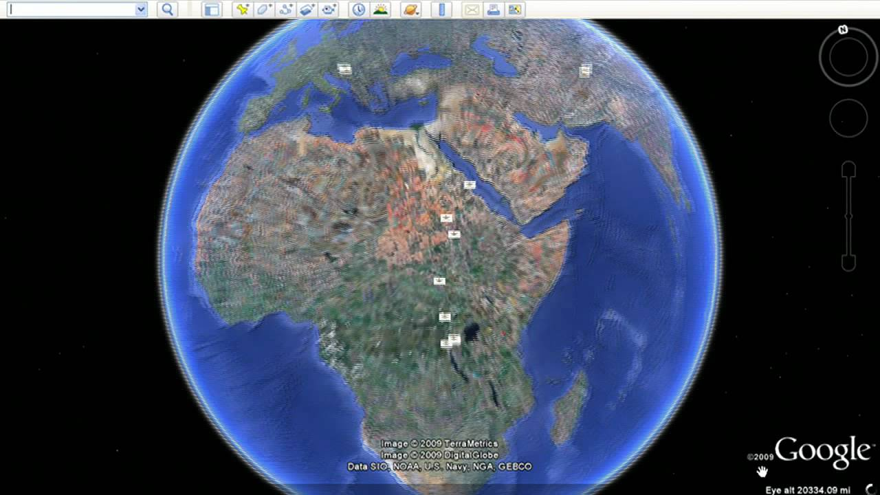 Embed your Google Earth layer in your website - YouTube