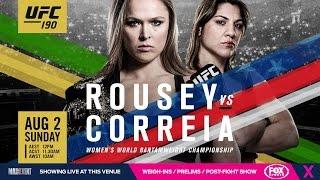 Ufc 190 Media Call Uncut: Ronda Rousey Tells Childhood Stories, Bethe Correia Is Not Afraid