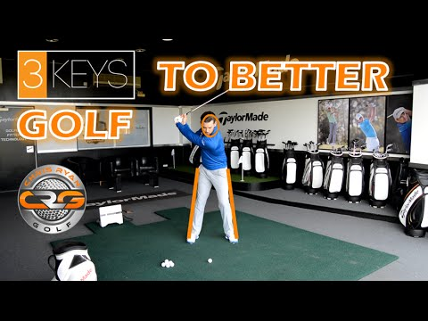 3KEYS TO PLAY BETTER GOLF