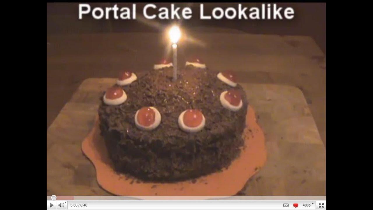 Homemade Portal Cake Recipe Youtube