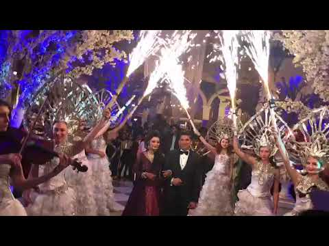 Bride and Groom Grand Entrance Ideas, Stage Entry Ideas ...