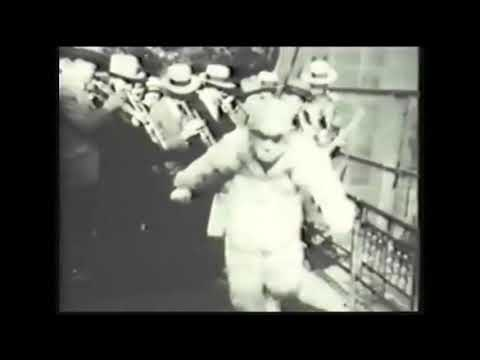 Jean Goldkette with Bix, private footage from 1926 combined with Clementine