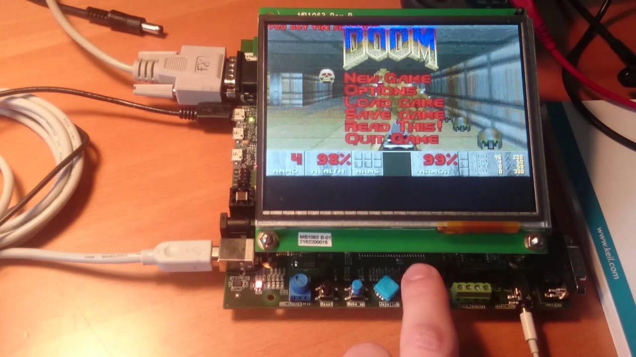 Doom on STM32F439I-EVAL