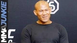 UFC 230: Ronaldo 'Jacare' Souza post fight press conference