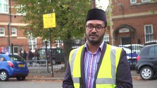 Khuddam work tirelessly in Southall ahead of Khalifa's arrival