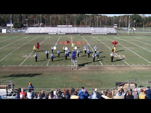 Elkin High School Marching Ambassadors at North Davidson 11/2/2019