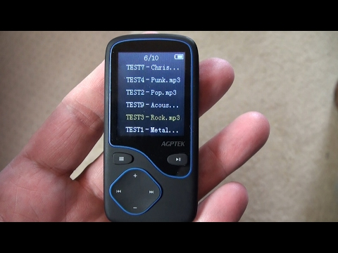 AGPTEK C05 Bluetooth MP3 player review