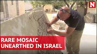 Rare mosaic unearthed in Israel
