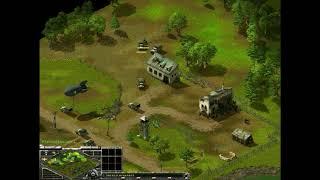 Sudden Strike Gold Edition I(3-3) 2vs2 MisterPimmler/BloodSport vs Gelo/Hanzen Full Gameplay