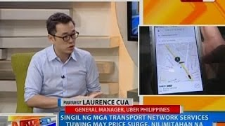 NTG: Panayam kay Laurence Cua, General Manager ng Uber Philippines